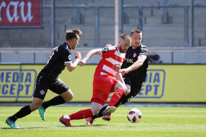 34. Spieltag 18/19: FSV Zwickau - Würzburger Kickers