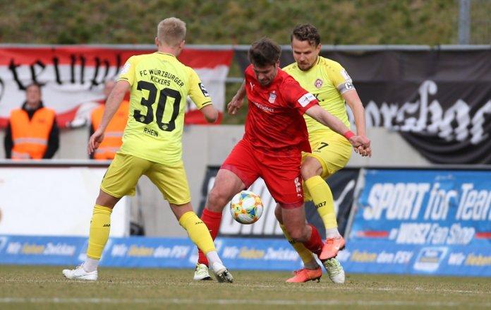 26. Spieltag 19/20: FSV Zwickau - Würzburger Kickers