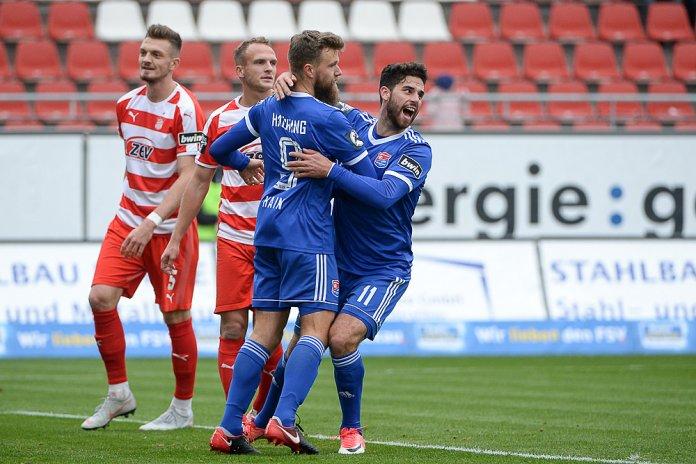14. Spieltag 18/19: FSV Zwickau - SpVgg Unterhaching