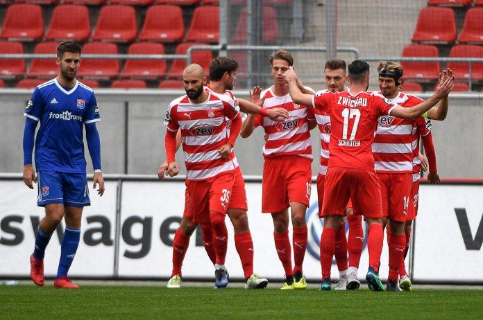 14. Spieltag 18/19: FSV Zwickau - SpVgg Unterhaching - Bild
