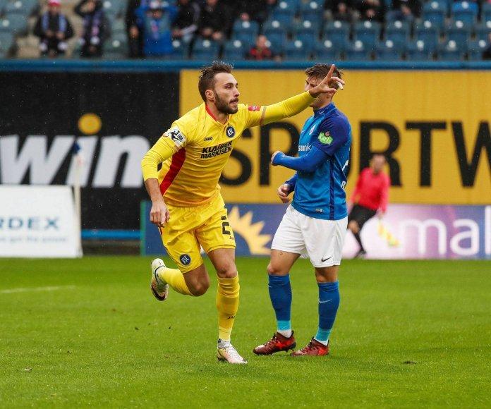 Karlsruhe siegt in Rostock – Spielbericht