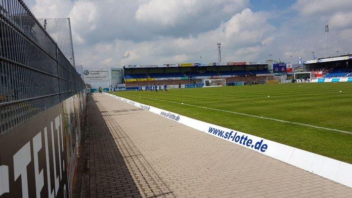Sportfreunde Lotte gegen den FSV Mainz 05 U23 – gerechtes Unentschieden - Spielbericht + Bilder