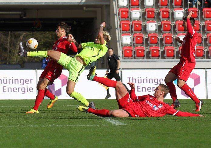 Erfurt besiegt Wiesbaden mit 1:0 – Spielbericht
