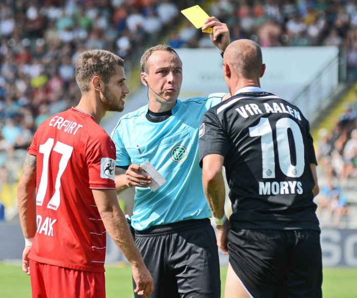 Aalen verpasst Sieg gegen Erfurt um wenige Minuten – Spielbericht