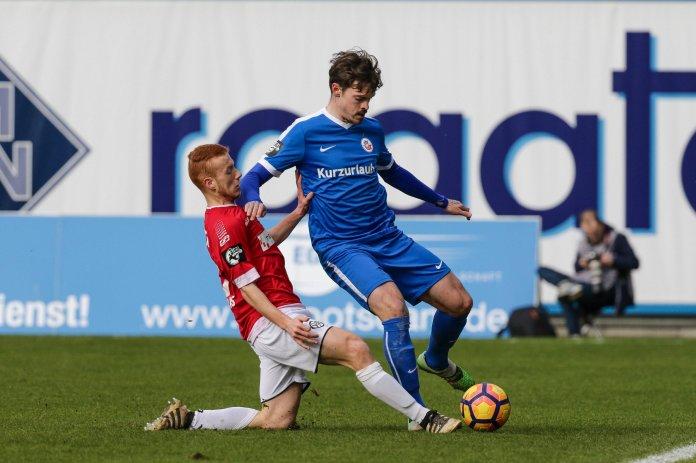 Rostock gleich spät gegen Aalen aus – Spielbericht