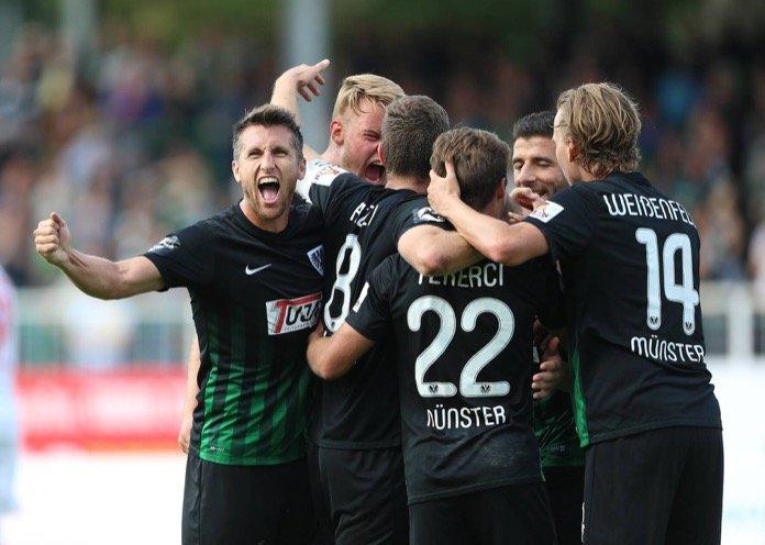 Münster schießt sich den Frust von der Seele – Spielbericht