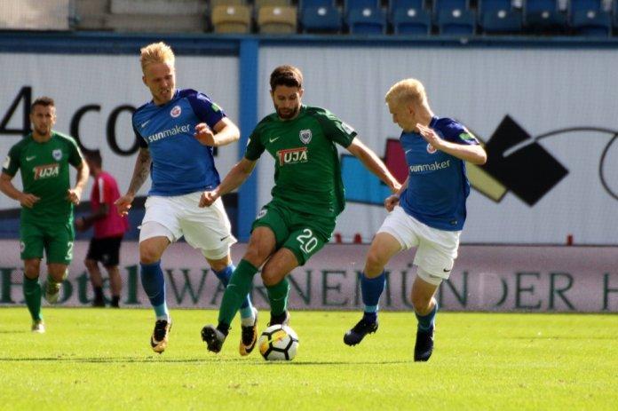 Kein Sieger zwischen Rostock und Münster – Spielbericht