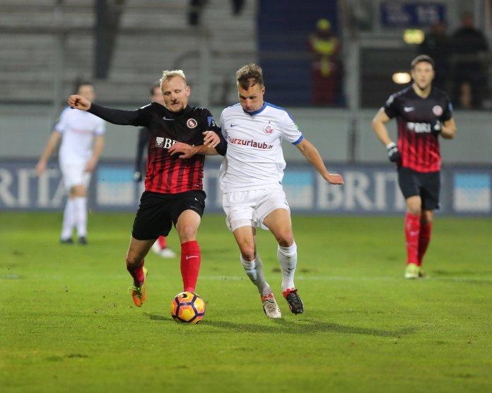 Punkteteilung zwischen Wiesbaden und Rostock – Spielbericht