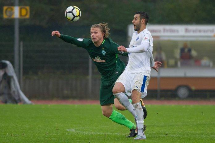 Werders U 23 und Lotte spielen 1:1 – Spielbericht