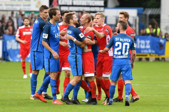Kein Sieger zwischen Meppen und Aalen – Spielbericht