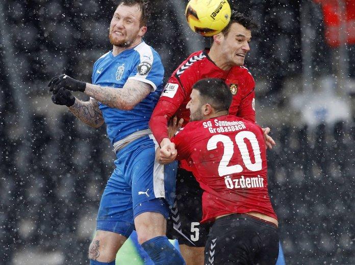 Großaspach und Jena trennen sich 0:0 – Spielbericht