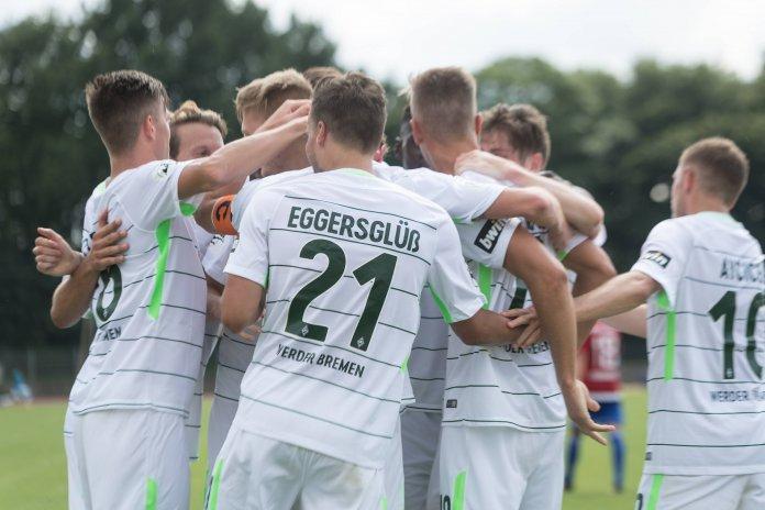 Werders U 23 startet mit deutlichem Sieg gegen Aufsteiger Unterhaching – Spielbericht