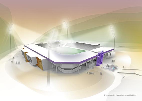 arge stadion aue / beyer architekten