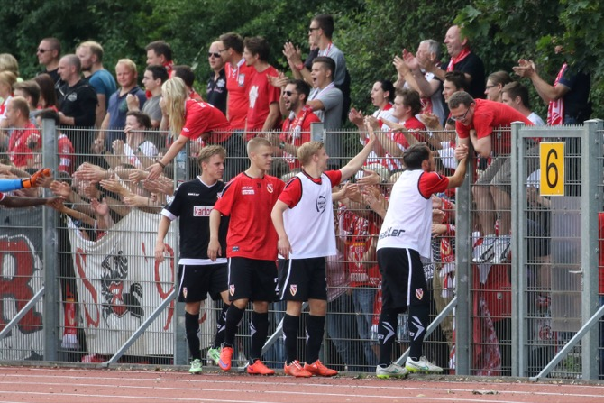 Cottbus Fans in Bremen (imago/nph)