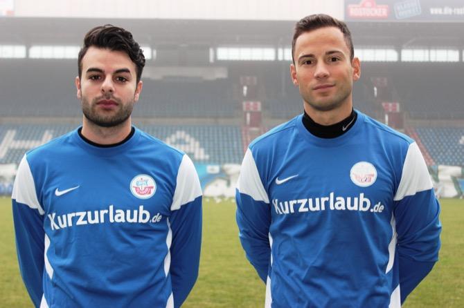 Christer Youssef und Ronny Garbuschewski Foto: F.C. Hansa Rostock