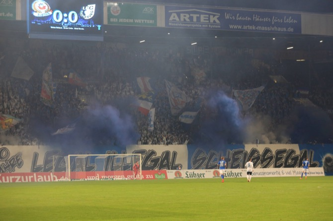 Fanaktionen am 10. Spieltag 2015/16