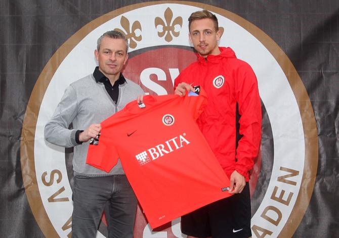 Freuen sich auf die Zusammenarbeit: Sportdirektor Christian Hock (l.) und Timm Golley (Foto: svww.de