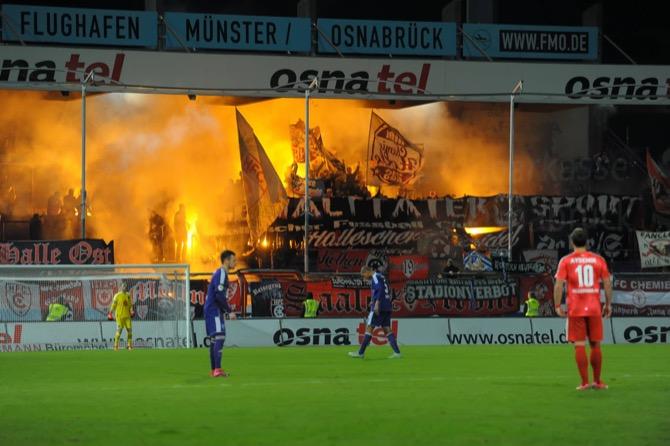 Osnabrück mit wichtigen Sieg über Halle - Spielbericht