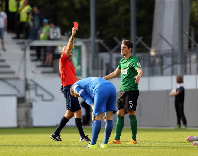 Rote Karte für Philipps (imago/Sportfoto Rudel)