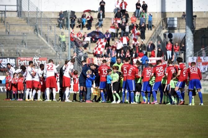 Unterhaching und Fortuna Köln trennen sich 1:1 - Spielbericht