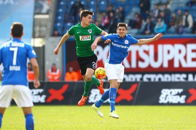 Keine Tore zwischen Rostock und Münster – Spielbericht