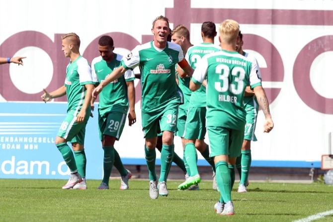 Rostock vergibt Führung gegen Aufsteiger Bremen II - Spielbericht