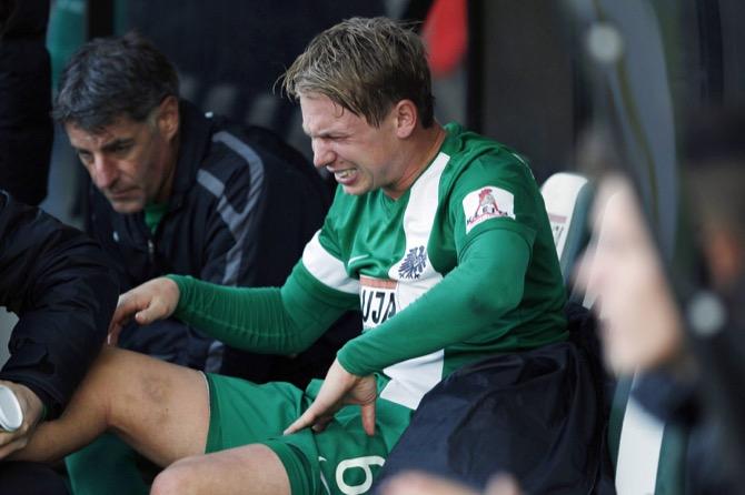 Kevin Schöneberg verletzt (imago/Eibner)