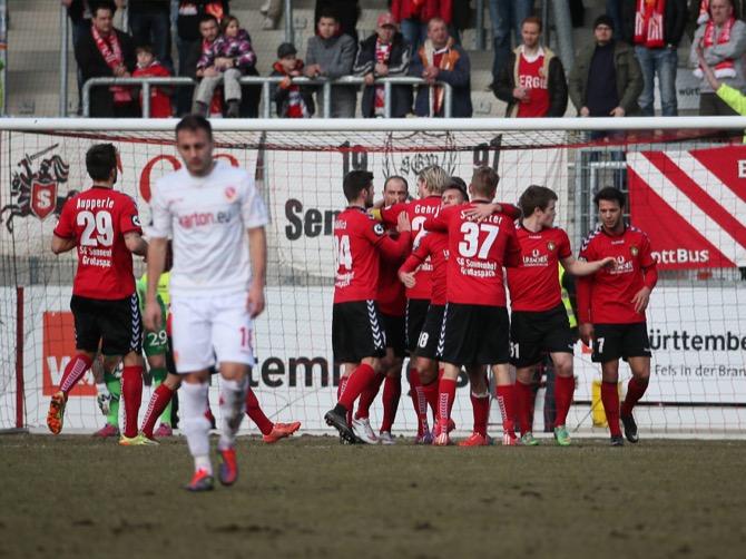 Großaspach vergibt Sieg gegen Cottbus - Spielbericht