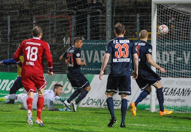 Unterhaching siegt gegen Rostock - Spielbericht
