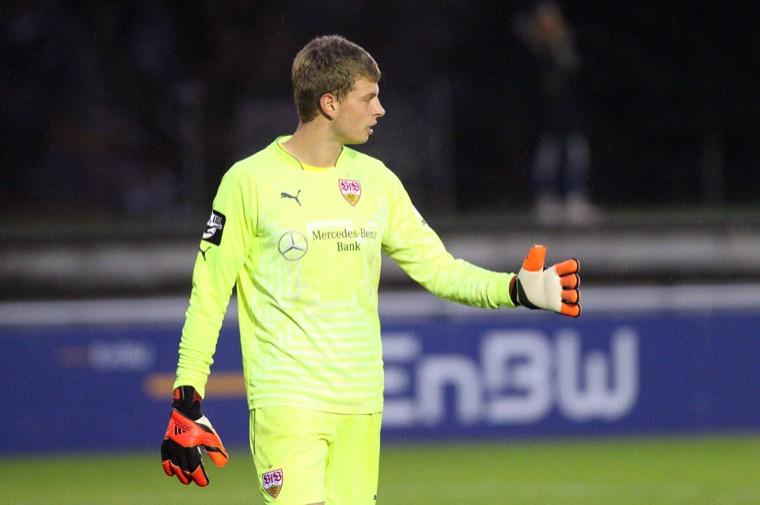 Torhüter Uphoff (imago/Sportfoto Rudel)
