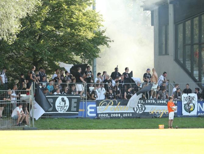 VfR Fans im WFV-Pokal (imago/Eibner)