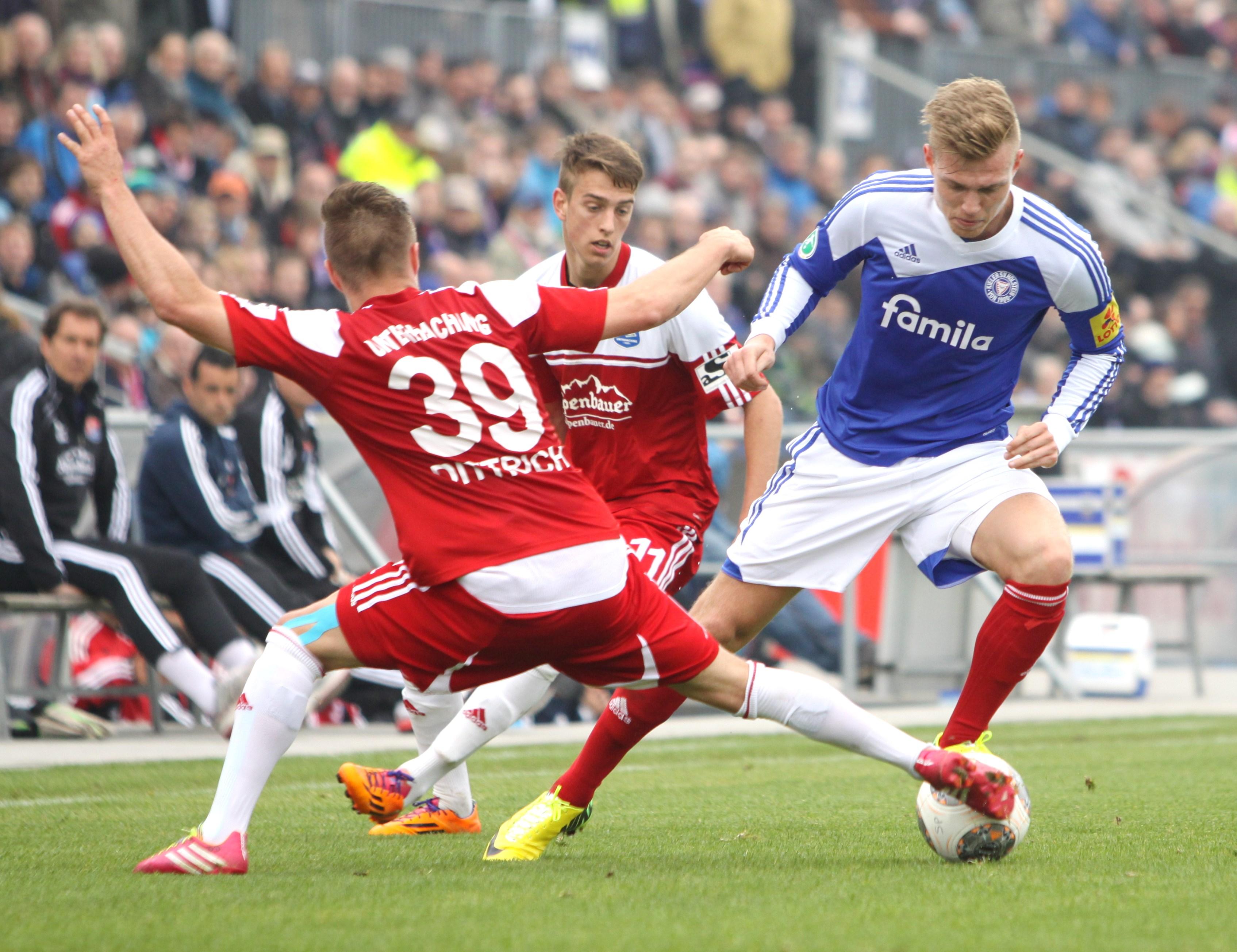 """Holstein Kiels Breitkreutz: """"Ich bringe alles mit, was ein guter Fußballer braucht"""""""